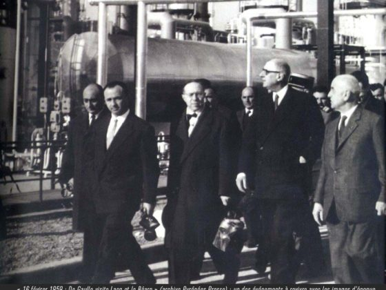16 février 1959 : De Gaulle visite Lacq et le Béarn » (archive Pyrénées Presse) : un des événements à revivre avec les images d'époque